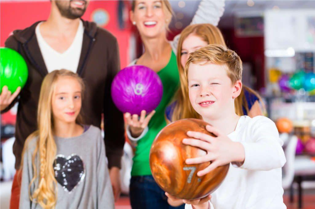 Bowling Coburg -Bild Kindergeburtstag im Sportland Coburg