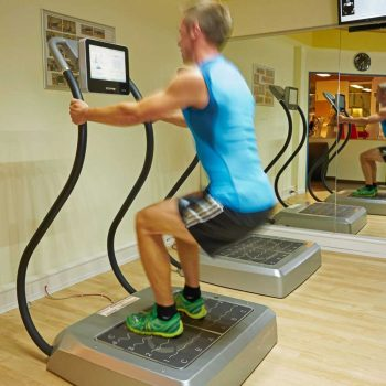 Fitnesstraining - Bild Vibrationstraining